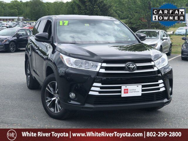 2017 Toyota Highlander LE Plus White River Junction VT