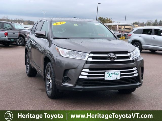 2017 Toyota Highlander LE South Burlington VT