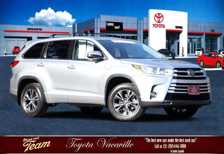 2017 Toyota Highlander Le Plus Sport Utility Vacaville CA
