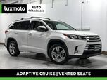 2017 Toyota Highlander Limited AWD 3rd Row Adaptive Cruise Nav Vntd Seats