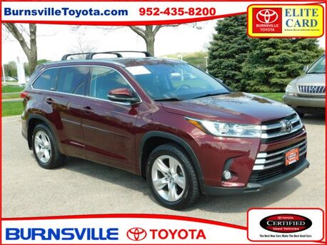 2017_Toyota_Highlander_Limited_ Burnsville MN