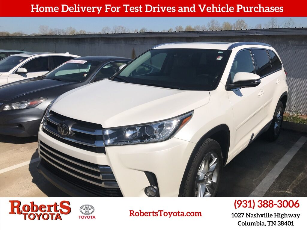 2017 Toyota Highlander Limited Columbia TN