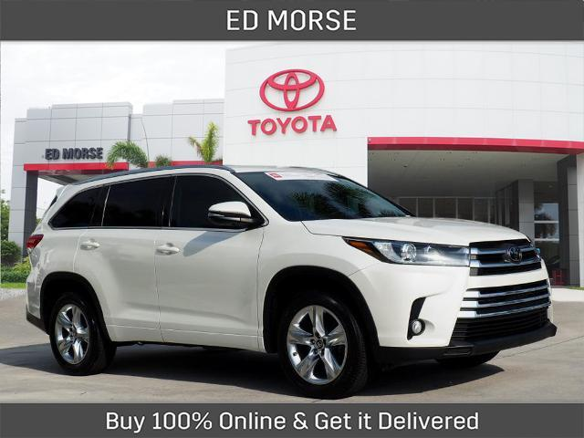 2017 Toyota Highlander Limited Delray Beach FL