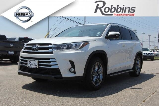 2017 Toyota Highlander Limited Houston TX