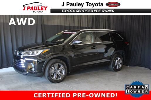 2017_Toyota_Highlander_Limited Platinum_ Fort Smith AR
