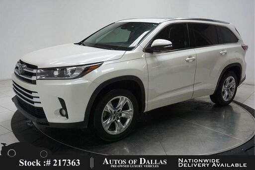 2017_Toyota_Highlander_Limited Platinum NAV,CAM,SUNROOF,HTD STS,3RD ROW_ Plano TX