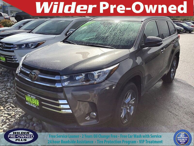 2017 Toyota Highlander Limited Platinum Port Angeles WA