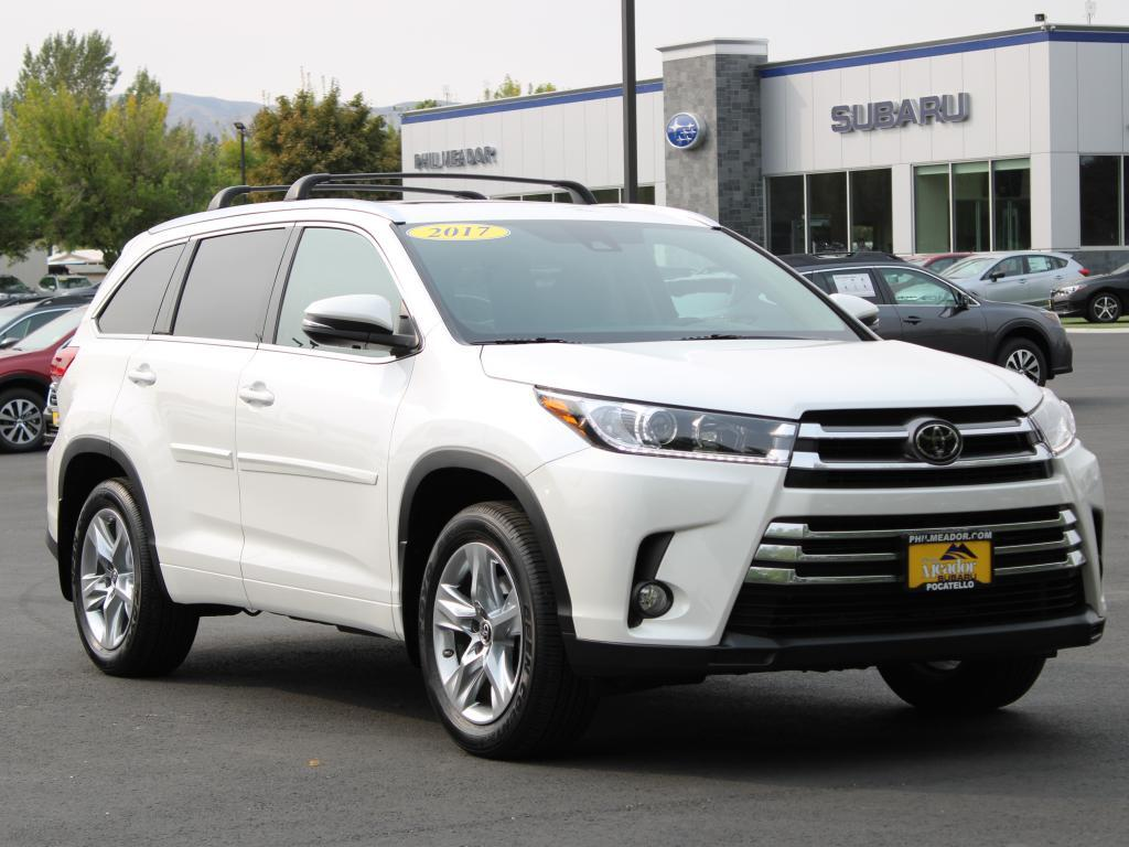 2017 Toyota Highlander Limited Pocatello ID