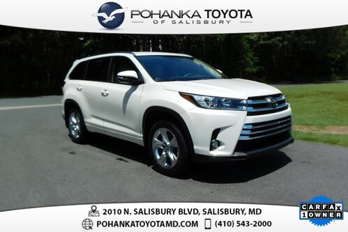2017_Toyota_Highlander_Limited_ Salisbury MD