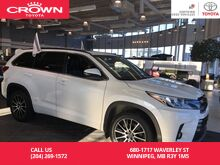 2017_Toyota_Highlander_SE AWD / Clean Carproof / Local / One Owner / Lease Return / Great Condition / Unbeatable Value_ Winnipeg MB