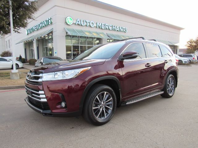 2017 Toyota Highlander XLE AWD V6*3RD ROW SEAT,BACKUP CAM,BLINDSPOT MONITOR,NAVIGATION,LANE KEEPING,UNDER FACTORY WARRANTY! Plano TX