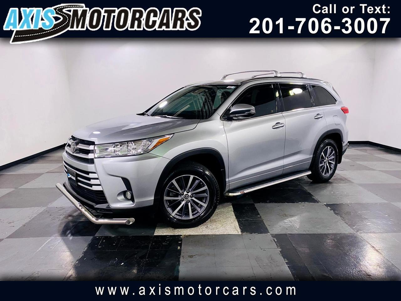2017 Toyota Highlander XLE AWD w/Backup Camera Navigation Sun Roof Jersey City NJ