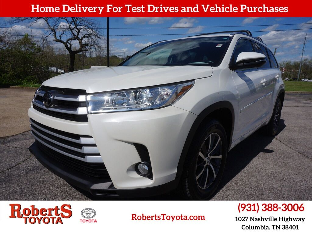 2017 Toyota Highlander XLE Columbia TN
