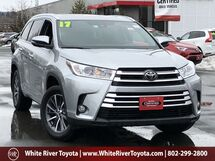 2017 Toyota Highlander XLE White River Junction VT