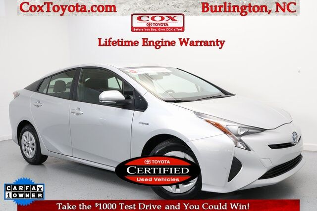 2017 Toyota Prius Two Burlington NC