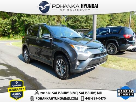 2017_Toyota_RAV4 Hybrid_XLE **ONE OWNER**_ Salisbury MD