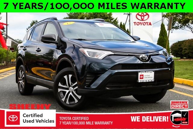 2017 Toyota RAV4 LE 7 YEARS 100,000 MILES WARRANTY Stafford VA