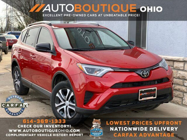 Used 2017 Toyota Rav4 Le In Columbus Oh