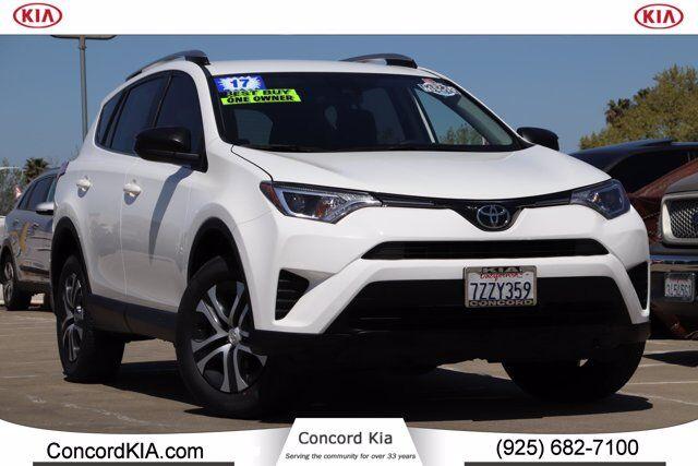 2017 Toyota RAV4 LE Concord CA