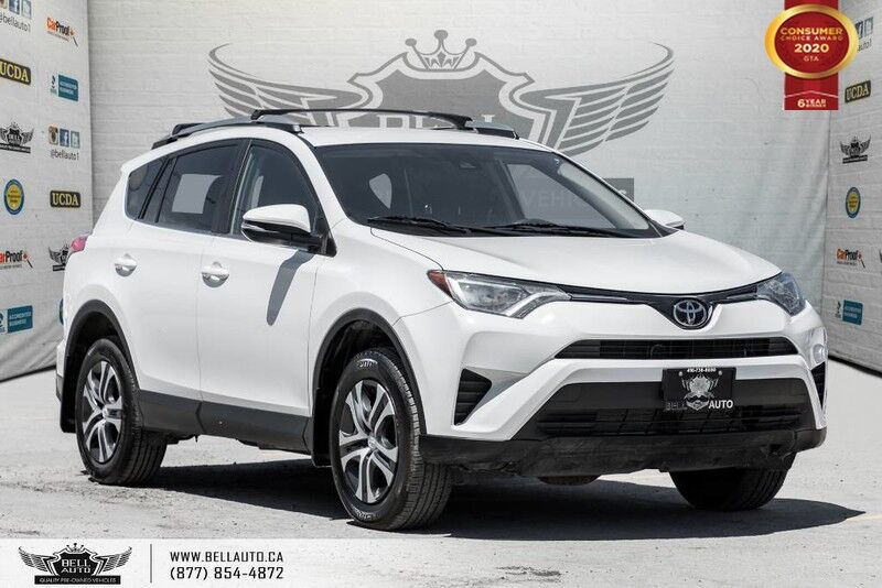 2017 Toyota RAV4 LE, NO ACCIDENT, AWD, REAR CAM, BLUETOOTH, HEATED SEAT