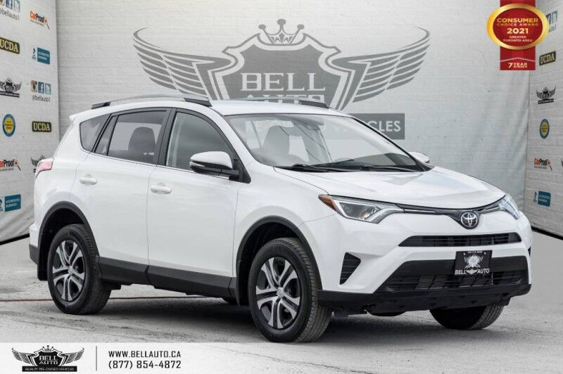 2017 Toyota RAV4 LE, NO ACCIDENTS, AWD, REAR CAMERA, HEATED SEATS. Toronto ON