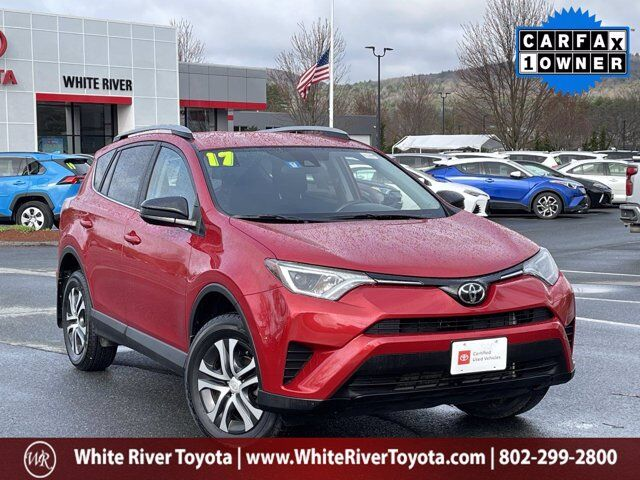 2017 Toyota RAV4 LE White River Junction VT