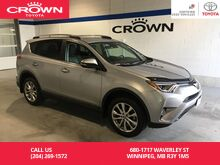 2017_Toyota_RAV4_Limited AWD / Clean Carproof / One Owner / Lease Return / Local_ Winnipeg MB