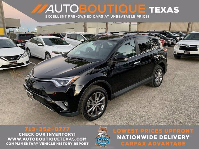 2017 Toyota RAV4 Limited Houston TX