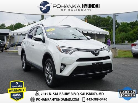 2017_Toyota_RAV4_Limited **ONE OWNER**_ Salisbury MD