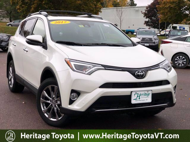 2017 Toyota RAV4 Limited South Burlington VT