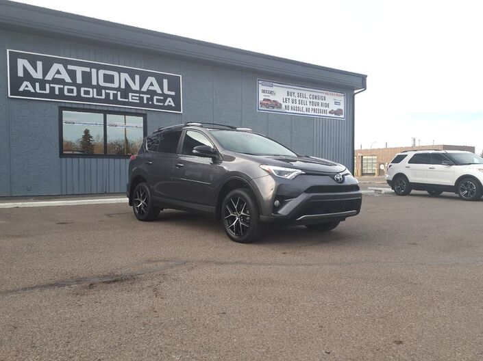 2017 Toyota RAV4 SE - HEATED LEATHER, SUNROOF, BACK UP CAMERA Lethbridge AB