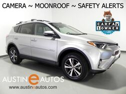 2017_Toyota_RAV4 XLE_*BACKUP-CAMERA, PRE-COLLISION SYSTEM, LANE DEPARTURE ALERT, ADAPTIVE CRUISE, TOUCH SCREEN, MOONROOF, BLUETOOTH_ Round Rock TX
