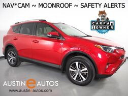 2017_Toyota_RAV4 XLE_*NAVIGATION, BLIND SPOT ALERT, PRE-COLLISION SYSTEM, LANE DEPARTURE ALERT, BACKUP-CAMERA, MOONROOF, POWER LIFTGATE, PUSH BUTTON START, BLUETOOTH PHONE & AUDIO_ Round Rock TX