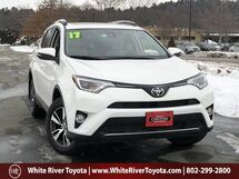 2017 Toyota RAV4 XLE White River Junction VT