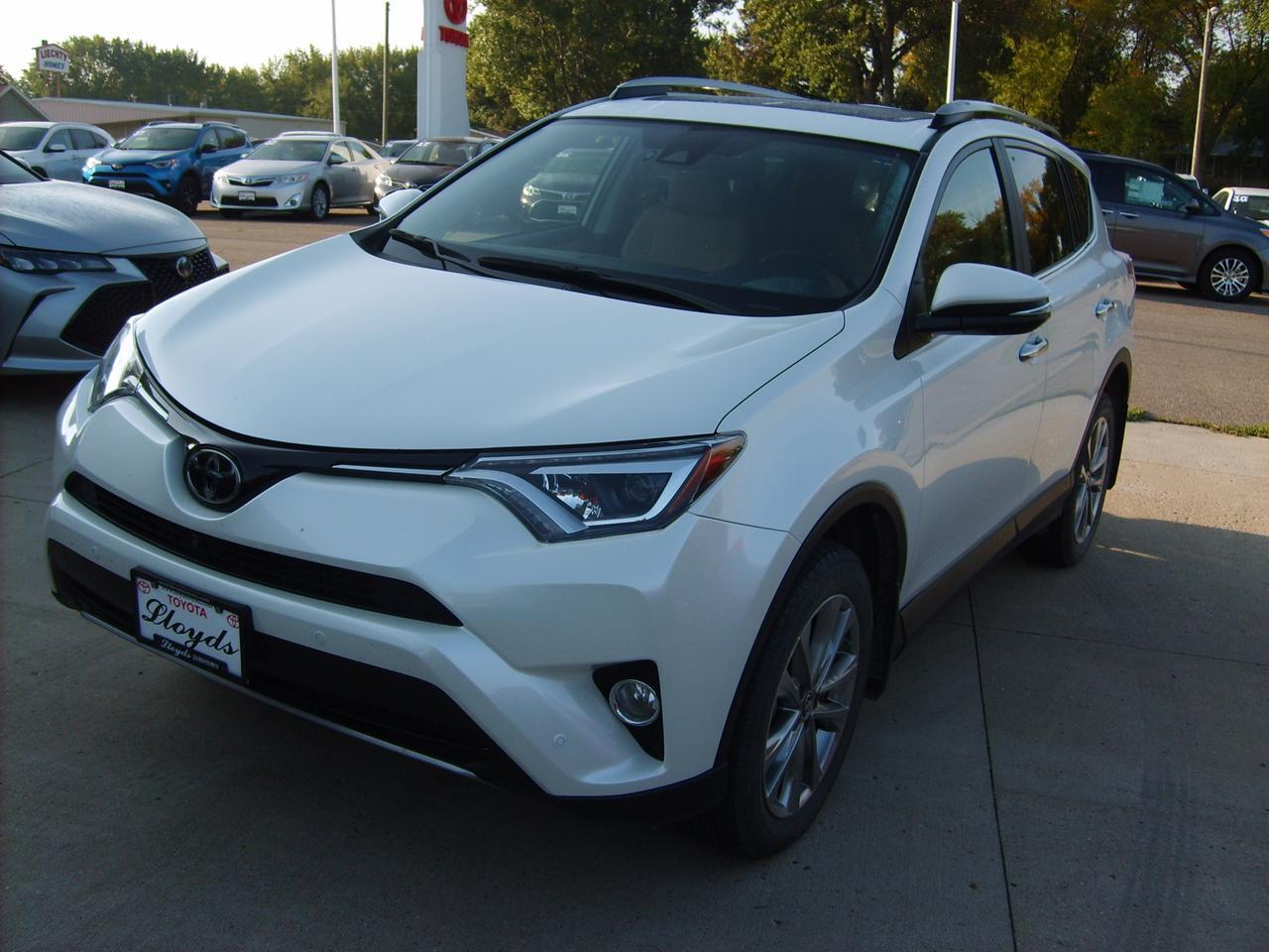 2017 Toyota Rav4 Limited AWD Jamestown ND