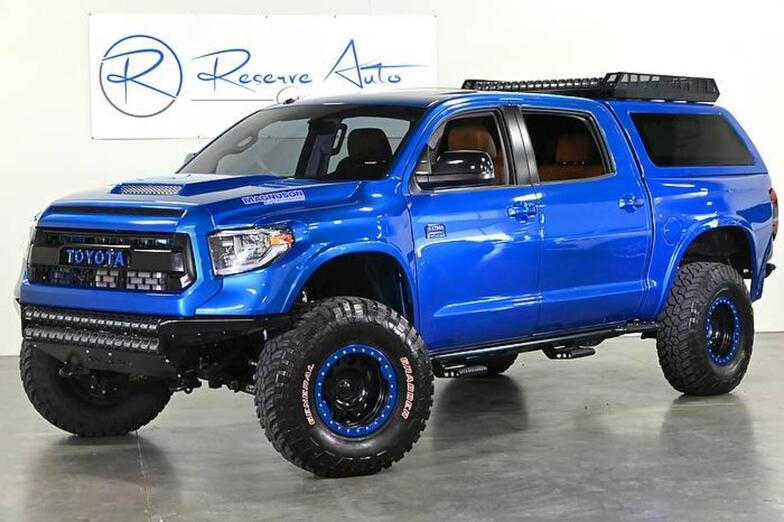 2017 Toyota SEMA Show Tundra 4WD Custom WideBody Magnuson SuperCharger The Colony TX