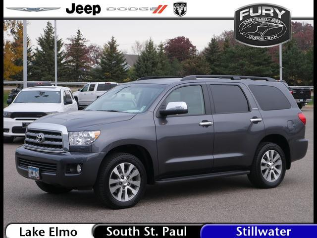 2017 Toyota Sequoia Limited 4WD FFV (Natl) St. Paul MN