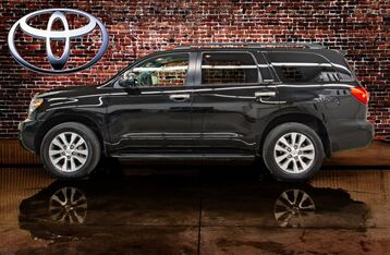 2017_Toyota_Sequoia_Limited_ Red Deer AB