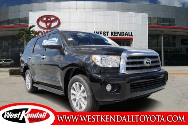 2017_Toyota_Sequoia_Limited_ Miami FL