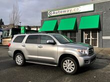 2017_Toyota_Sequoia_Platinum | Heated and Cooled Seats | Navi | Rear Entertainment_ Coquitlam BC