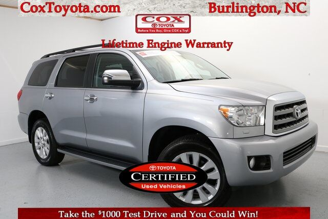 2017 Toyota Sequoia Platinum Burlington NC