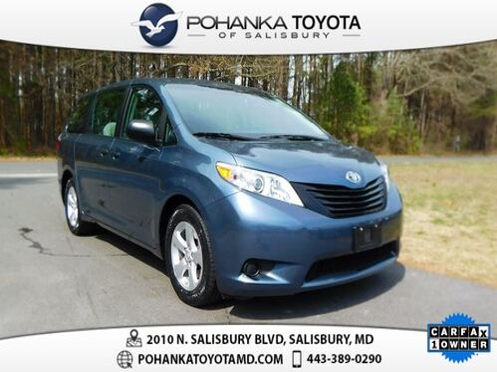 2017_Toyota_Sienna_L 7 Passenger_ Salisbury MD