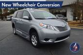 2017 Toyota Sienna LE New Wheelchair Conversion