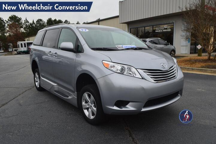 2017 Toyota Sienna LE New Wheelchair Conversion Conyers GA