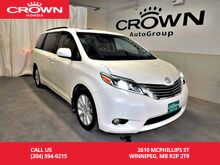 2017_Toyota_Sienna_Limited/***24th ANNUAL VICTORIA DAY SALE***/one owner/ low kms/ 7passenger/rear entertainment system/_ Winnipeg MB