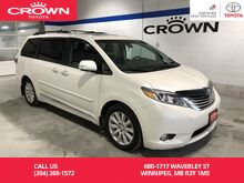 2017_Toyota_Sienna_Limited 7-Pass FWD / Lease Return / Local / Great Condition / Best Value In Town_ Winnipeg MB