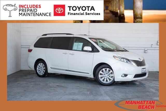 2017 Toyota Sienna Limited Manhattan Beach CA