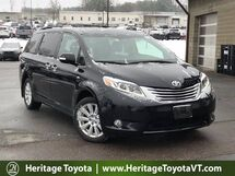 2017 Toyota Sienna Limited Premium AWD South Burlington VT
