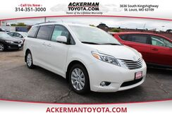 2017_Toyota_Sienna_Limited_ St. Louis MO