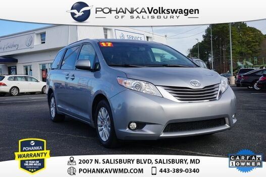 2017_Toyota_Sienna_XLE 7 Passenger ** ONE OWNER ** LEATHER NAVI SUNROOF **_ Salisbury MD